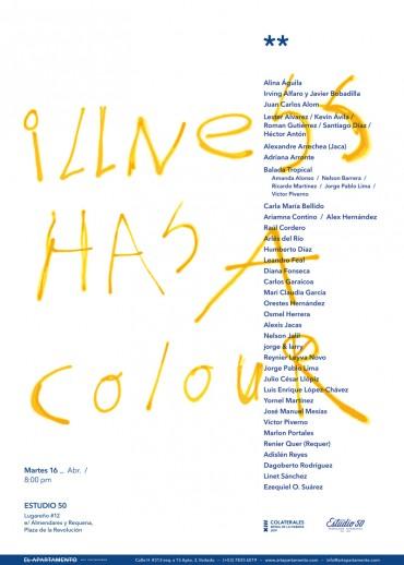 Illness Has a Colour