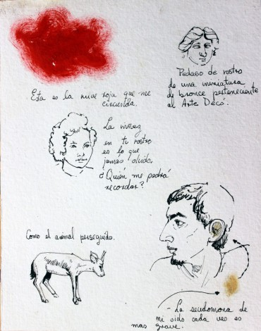 Untitled, from the series Apuntes del GI (GI Notes)