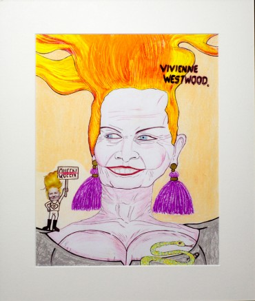 Vivienne Westwood, from the series ¿Qué almacenan en esas carpetas las hermanas Olsen? (What do Olsen sisters storages on those files?)