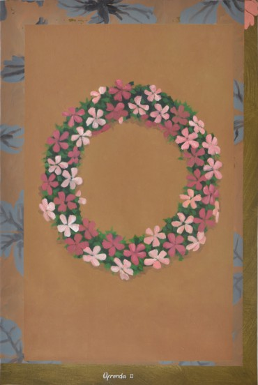 Ofrenda II (The Offering II), from the series Pinturas sobre flores recuperadas