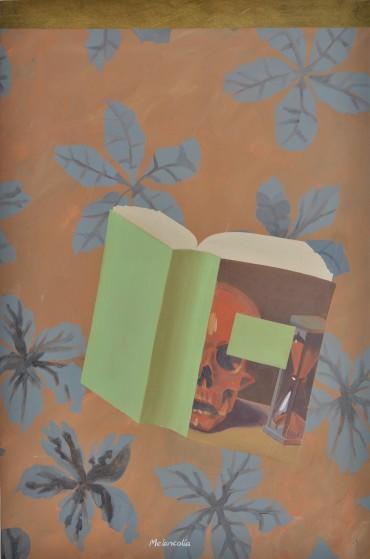 Melancolía, de la serie Pinturas sobre flores recuperadas
