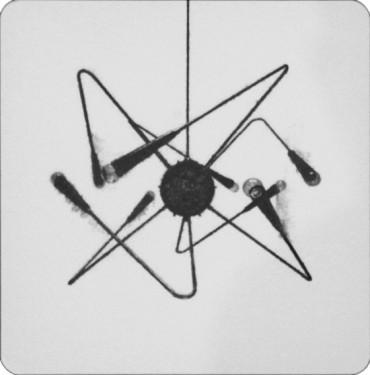 """Sin título. De la Serie """"Sputnik"""""""