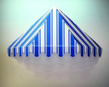 Parasol azul